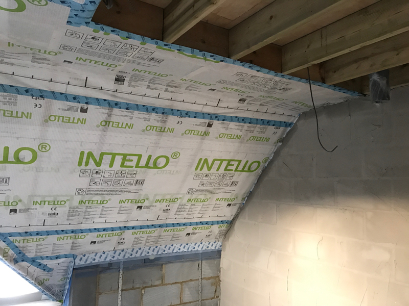 Intello plus air tight membrane
